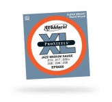 Струны для электрогитары D'ADDARIO EPS600 XL ProSteels Jazz Medium