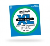 Струны для электрогитары D'ADDARIO EXL130 XL Extra Super Light