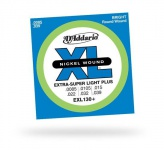 Струны для электрогитары D'ADDARIO EXL130+ XL Extra Super Light Plus