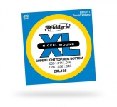 D'ADDARIO EXL125 XL Super Top Regular Bottom