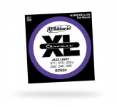 Струны для электрогитары D'ADDARIO ECG24 XL Chromes Jazz Light