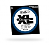 Струны для электрогитары D'ADDARIO ECG25 XL Chromes Light