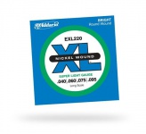Струны для бас-гитары D'ADDARIO EXL220 XL Super Light 4str