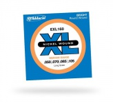 Струны для бас-гитары D'ADDARIO EXL160 XL Medium 4str