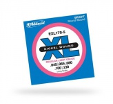 Струны для бас-гитары D'ADDARIO EXL170-5 XL Regular Light 5str