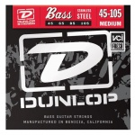 Струны для  бас-гитары DUNLOP DBS45105 STAINLESS STEEL MEDIUM 45-105