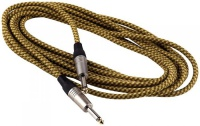 Инструментальный шнур ROCKCABLE RCL30205TC D/GOLD