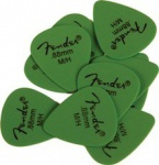 Fender MATTE DERLRIN PICKPACKS (12) GREEN
