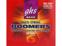 Струны для  бас-гитары GHS 6ML-DYB 6 STRING BOOMERS MEDIUM LIGHT 030-126