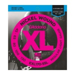 Струны для бас-гитары D`ADDARIO EXL170-5SL XL REGULAR