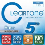 Струна для бас-гітари CLEARTONE 64-130 BASS NICKEL-PLATED 5TH STRING 130