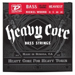 Струны для бас-гитары DUNLOP DBHCN55120 HEAVY CORE BASS HEAVIEST 55-120