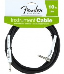 Инструментальный кабель FENDER PERFORMANCE INSTRUMENT CABLE 10' ANGLED BK