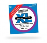 Струны для гитары D`ADDARIO EKXL120 XL SUPER LIGHT REINFORCED (9-42)