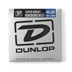 Набір струн Dunlop DBSBN45125 Super Bright Nickel 45-125