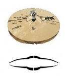 "Тарелка SABIAN 14"" HHX Evolution Hats Brilliant (11402XEB)"
