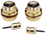 Стреплоки Fender Strap Locks Gold Pair FSLG1