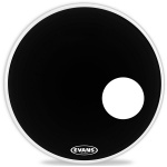 "Пластик для бас-барабана  EVANS 22"" EQ3 Resonant Black"