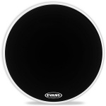 "Пластик для бас-барабана  EVANS 22"" EQ1 Resonant Black"