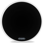 "Пластик для бас-барабана  EVANS 20"" Resonant Black"