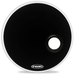 "Пластик для бас-барабана  EVANS 20"" EMAD Resonant Black"