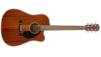 Электроакустическая гитара Fender CD-60SCE All-Mahogany