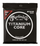 Струни для гітари Martin MTCN160 Titanium Core Light (12-55)