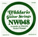 Струна для электрогитары D`ADDARIO NW048 XL Nickel Wound 048