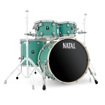 Ударная установка NATAL DRUMS CAFE RACER SEA FOAM GREEN