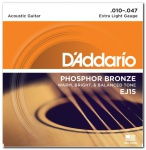 D'ADDARIO EJ15 Phosphor Bronze Extra Light