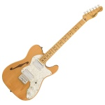 Электрогитара Squier by Fender Classic Vibe '70s Telecaster Thinline MN Natural