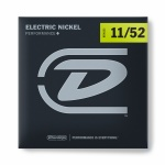 Струни для гітари DUNLOP DEN1152 Electric Nickel Performance+ 11-52