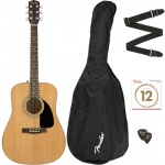 Комплект FENDER FA-115 DREADNAUGHT PACK NATURAL WN V2