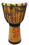 Джембе MAXTONE ADJ50B Abstract Cloth Djembe 10""