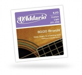D'ADDARIO EJ13 80/20 Bronze Custom Light