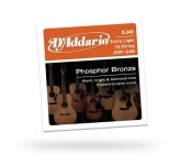 D'ADDARIO EJ41 Phosphor Bronze 12-String Extra Light