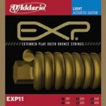 D'ADDARIO EXP11 EXP 80/20 Bronze Light