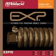 D'ADDARIO EXP15 EXP Phosphor Bronze Extra Light
