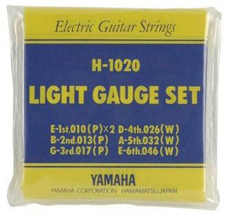 Струны для электрогитары YAMAHA H1020
