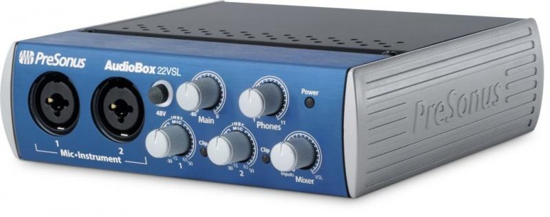 Аудио интерфейс PRESONUS AUDIOBOX 22VSL
