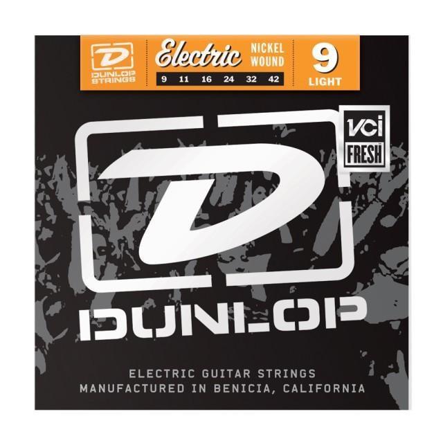 Струны для электрогитары DUNLOP DEN0942 ELECTRIC LIGHT 9