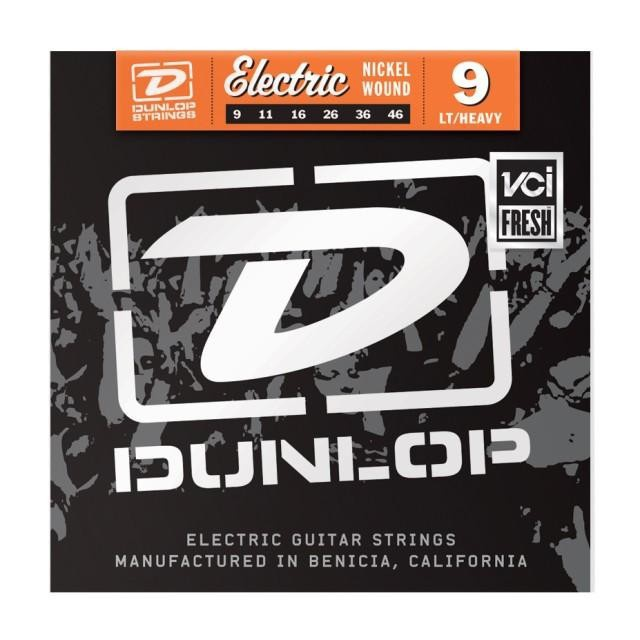 Струны для электрогитары DUNLOP DEN0946 ELECTRIC LIGHT/HEAVY 9