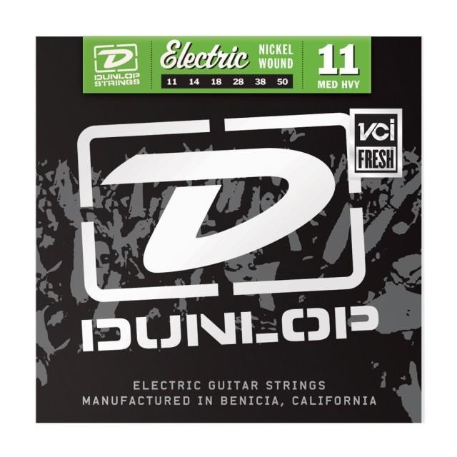 Струны для электрогитары DUNLOP DEN1150 ELECTRIC MEDIUM HEAVY 11