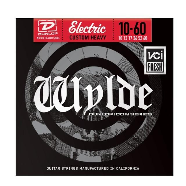 Струны для электрогитары DUNLOP ZWN1060 WYLDE ELECTRIC CUSTOM HEAVY