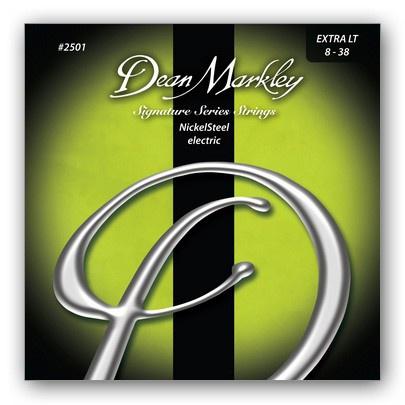 Струны для электрогитары DEAN MARKLEY 2501 NickelSteel Electric XL
