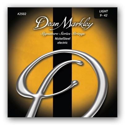 Струны для электрогитары DEAN MARKLEY 2502 Nickelsteel Electric LT