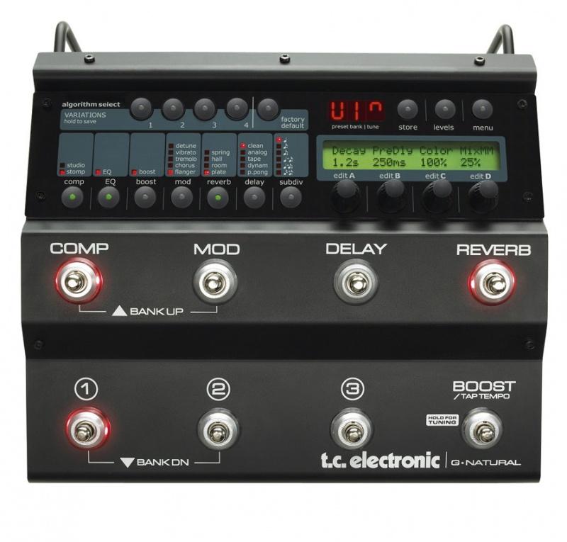 Гитарный процессор t.c.electronic G-Natural