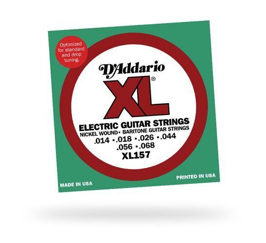 Струны для электрогитары D'ADDARIO XL157 XL Baritone Medium