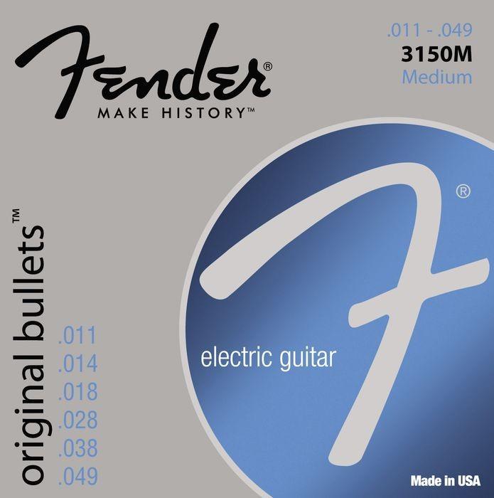 Струны для электрогитары FENDER 3150M