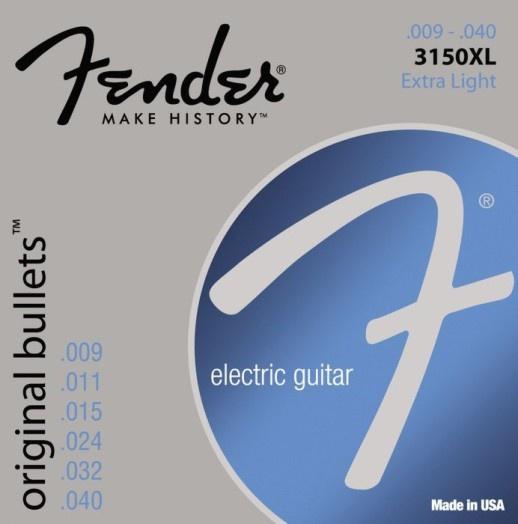 Струны для электрогитары FENDER 3150XL